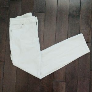 Michael Kors White Straight leg Jeans 4 petite